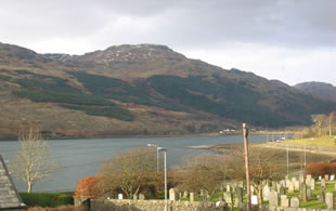 loch lomond self-catering accomodation Marthas flat